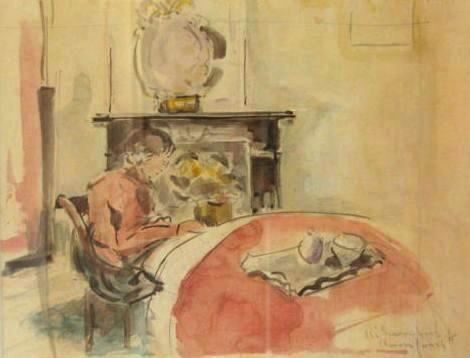 Reading girl, 1915 - Rik Wouters
