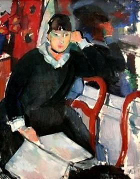Seated woman - Rik Wouters
