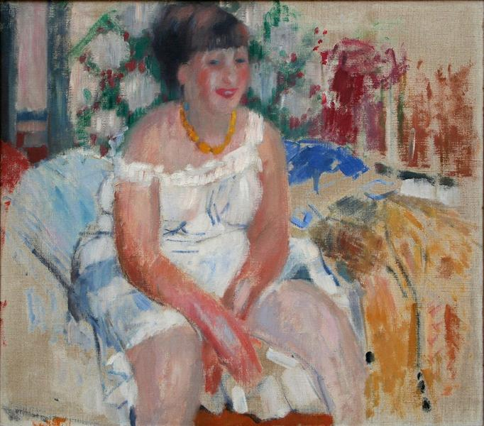 Woman on the Bedside, 1912 - Rik Wouters