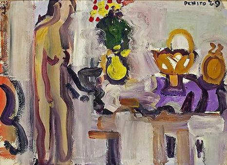 Nude Still Life, 1969 - Robert De Niro Sr.