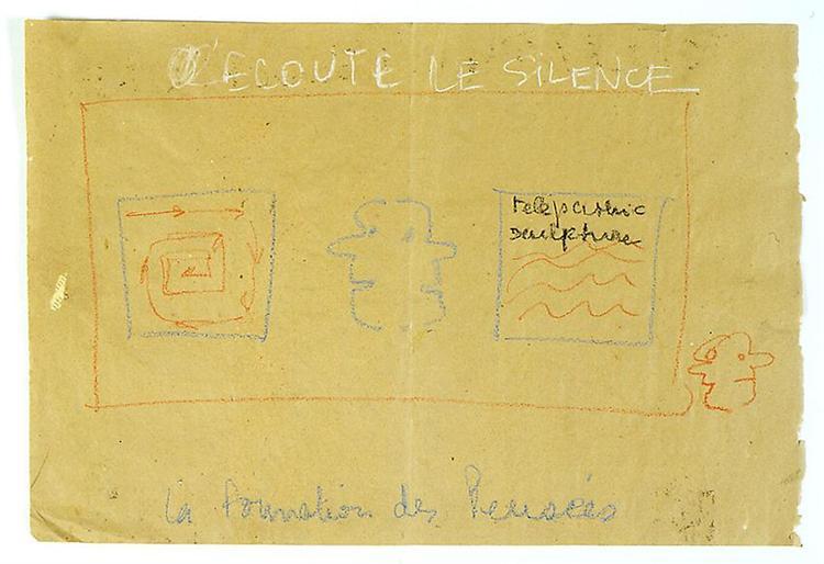 Ecoute la silence, 1975 - Robert Filliou