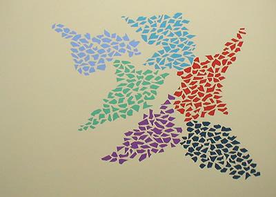 Confetti Pattern, 1973 - Роберт Гуднау