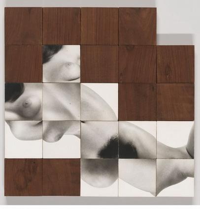24 Figure Blocks, 1966 - Robert Heinecken