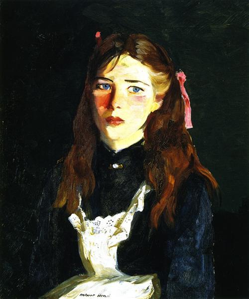 Irish Lass, 1913 - Robert Henri
