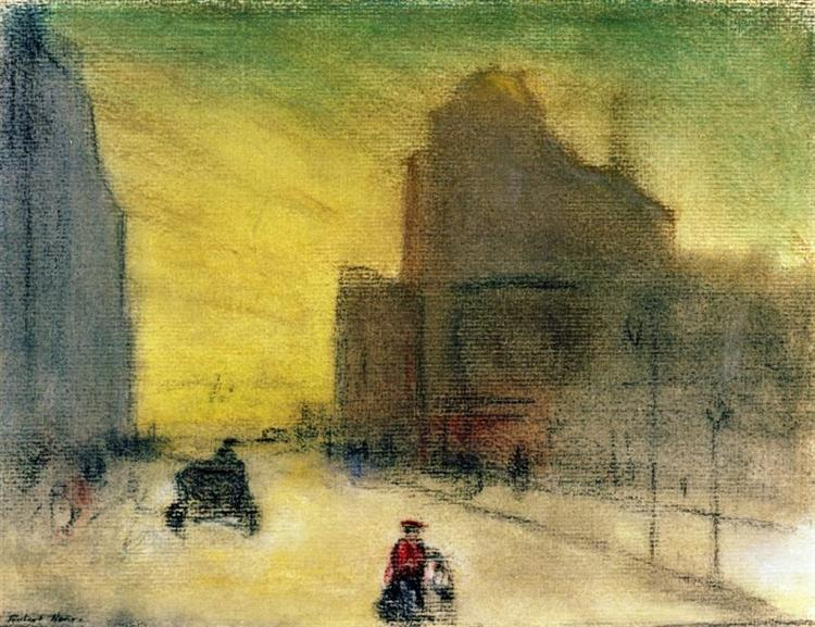 Morning Reflections, 1910 - Robert Henri