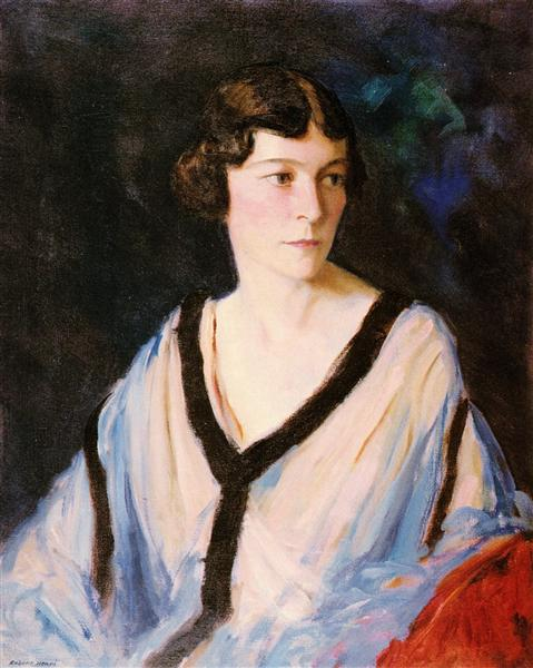Portrait of Mrs. Edward H. (Catherine) Bennett - Robert Henri