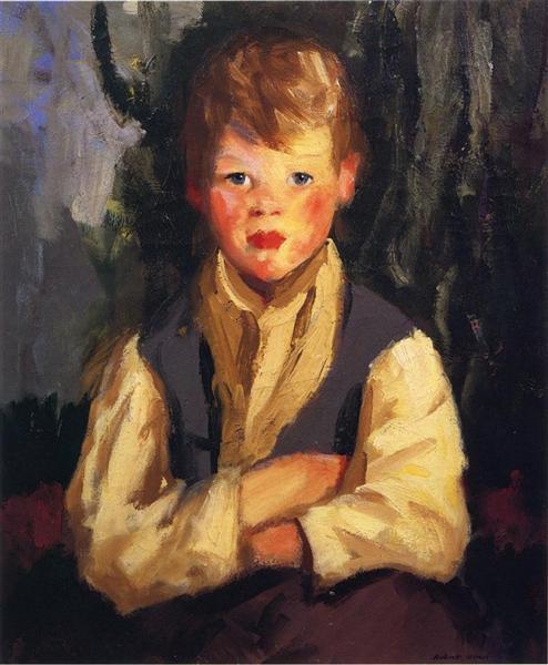 The Little Irishman, 1913 - Robert Henri