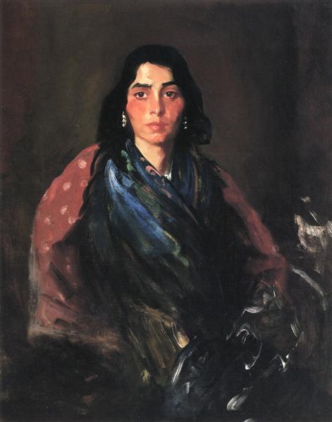 Wild Gypsy, 1912 - Robert Henri