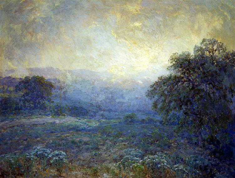 Dawn in the Hills, 1922 - Robert Julian Onderdonk