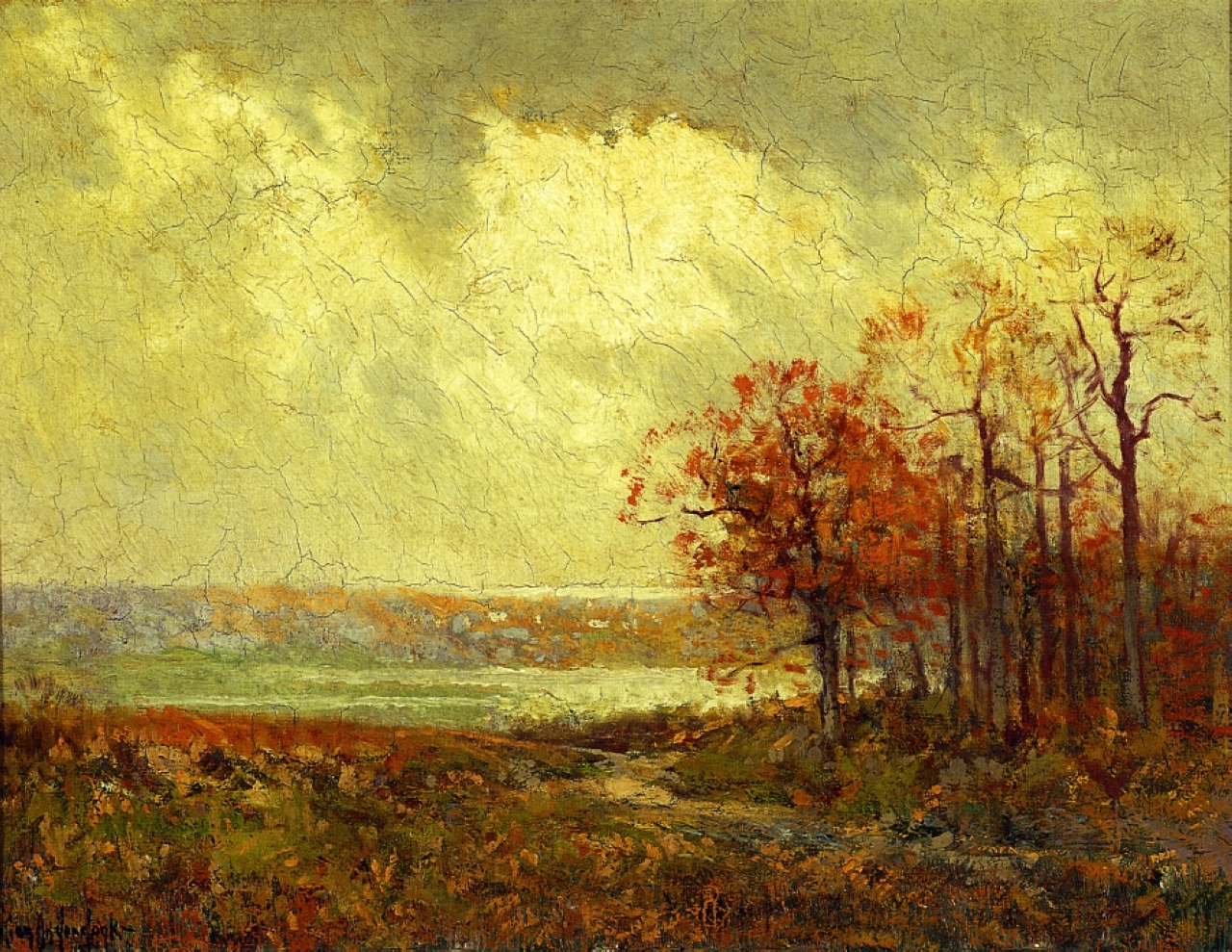 fall landscape robert julian onderdonk encyclopedia