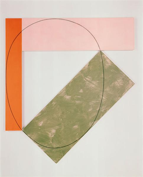 Three Color Frame Painting, 1985 - Robert Mangold