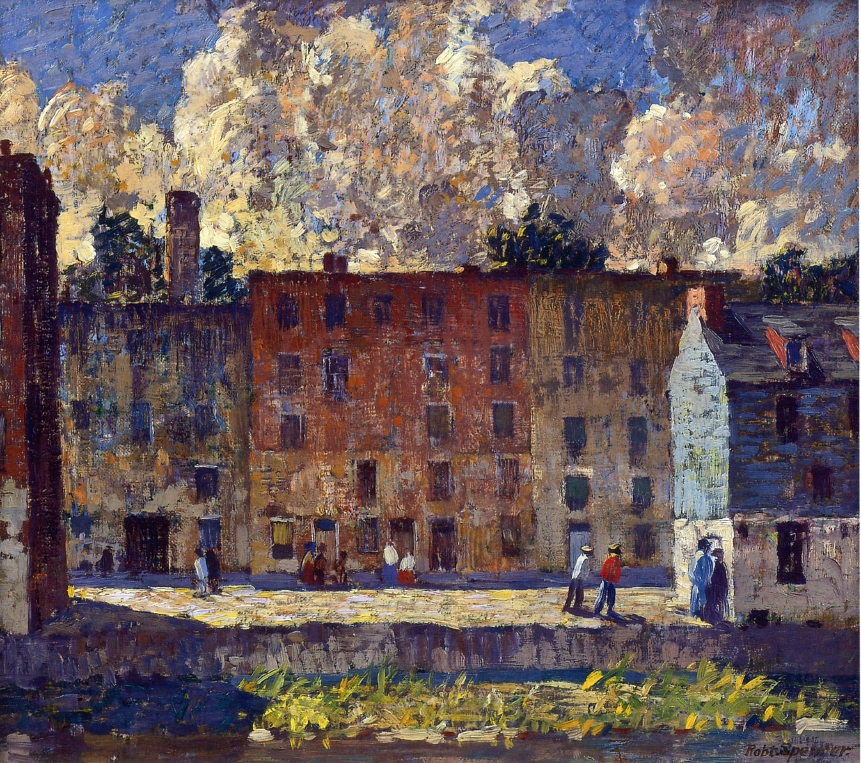 A Row of Tenements, 1915
