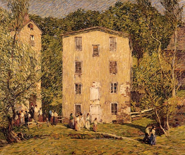 Five O'Clock, June, 1913 - Robert Spencer