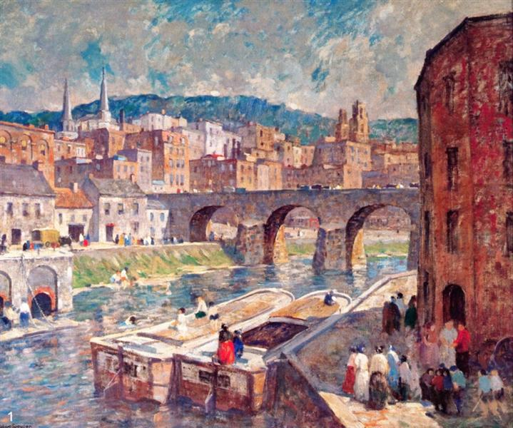 Pennsylvania Mill Town - Robert Spencer