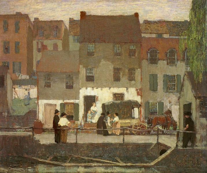 The Huckster Cart, 1912 - Robert Spencer