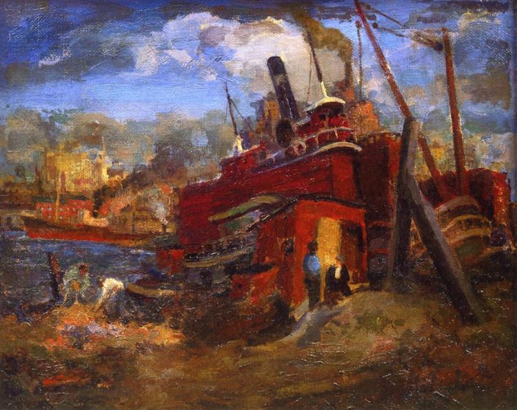 Untitled, 1908 - Robert Spencer