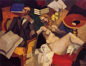 Married Life - Roger de La Fresnaye