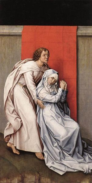 Crucifixion Diptych, 1460 - Rogier van der Weyden