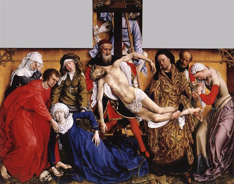 Deposition, 1435 - Rogier van der Weyden