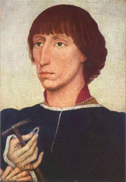 Portrait of Francesco d'Este, 1460 - Rogier van der Weyden