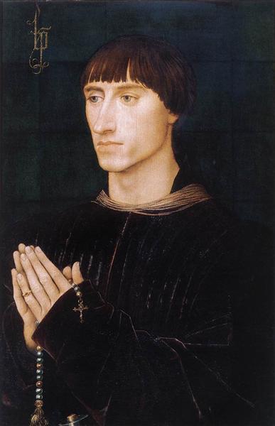 Portrait of Philippe de Croy, 1460 - Rogier van der Weyden