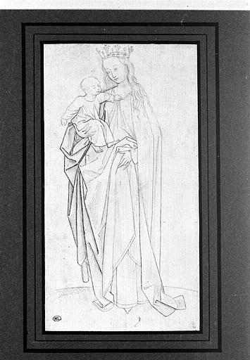 Virgin and Child - Rogier van der Weyden