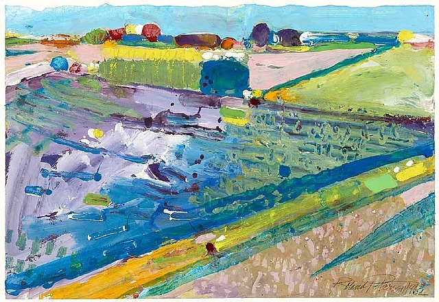 Landscape, Davis I, 1962 - Roland Petersen
