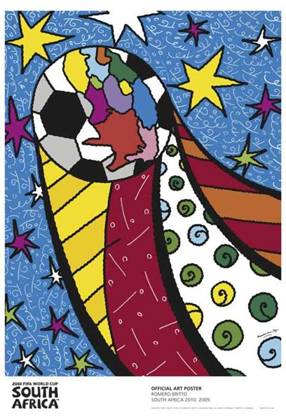 2010 World Cup South Africa - Romero Britto