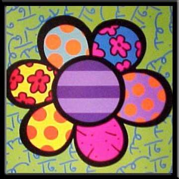 Flower Power IV - Romero Britto