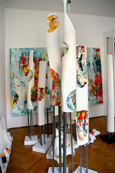 13 Painted Forms - Romul Nutiu