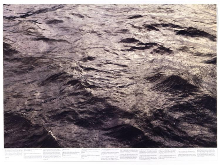 Untitled (from the series Still Water (The River Thames, for Example)), 1999 - Роні Хорн