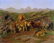 Weaning the Calves - Роза Бонёр