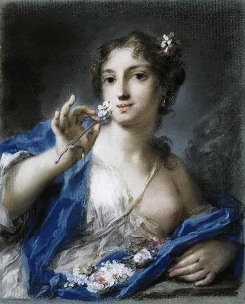 Spring, 1725 - Rosalba Carriera