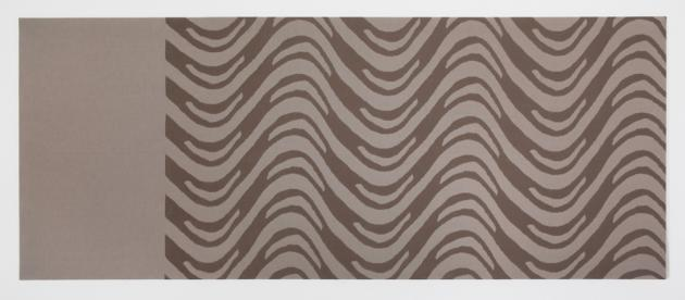 Untitled (Hommage to Bridget Riley), 1988 - Rosemarie Trockel