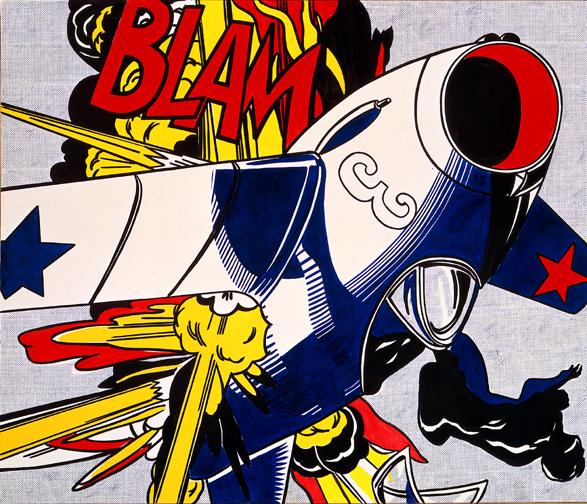Blam, 1962 - Рой Ліхтеншетейн