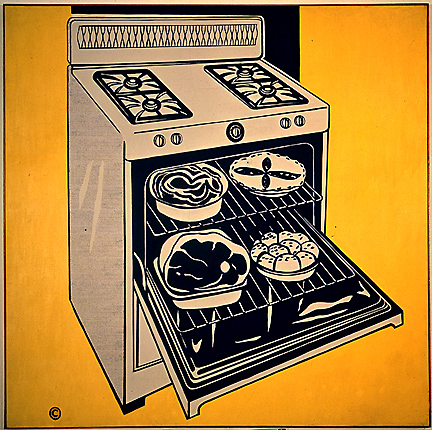 Kitchen range, 1961 - 1962 - Roy Lichtenstein