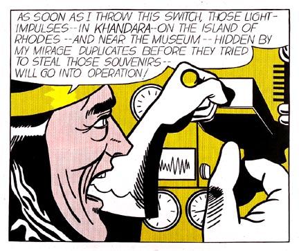 Mad scientist, 1963 - Roy Lichtenstein