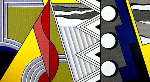 Modern painting with clef, 1967 - Roy Lichtenstein