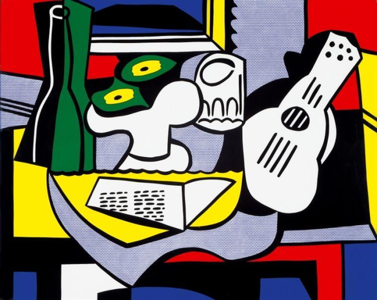 Still life after Picasso, 1964 - Roy Lichtenstein