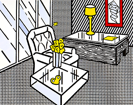 The den, 1990 - Roy Lichtenstein