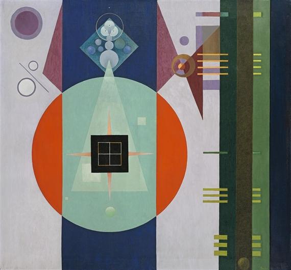 Dark Square, 1938 - Rudolf Bauer