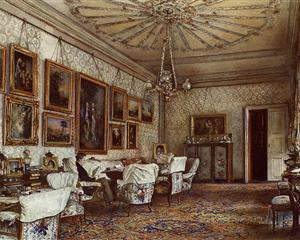 Salon in the Apartment of Count Lanckoroński in Vienna - Rudolf von Alt