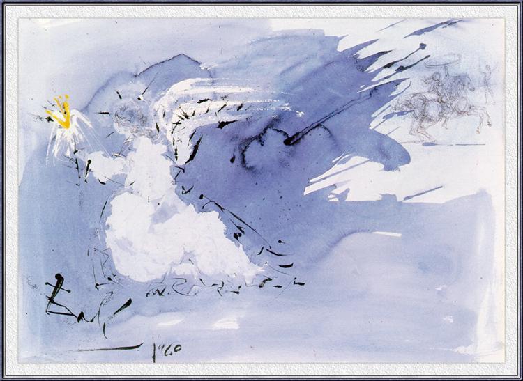 Angel of Light, 1960 - Salvador Dali