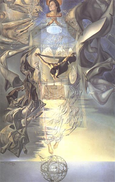 Assumpta Corpuscularia Lapislazulina, 1952 - Salvador Dalí