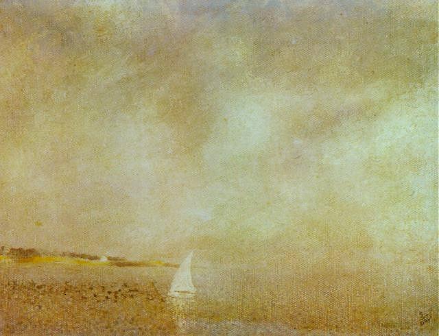 Bay of Cadaques, 1925 - Salvador Dali