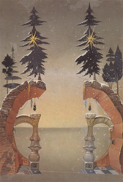 Christmas (Noel), 1946 - Salvador Dali