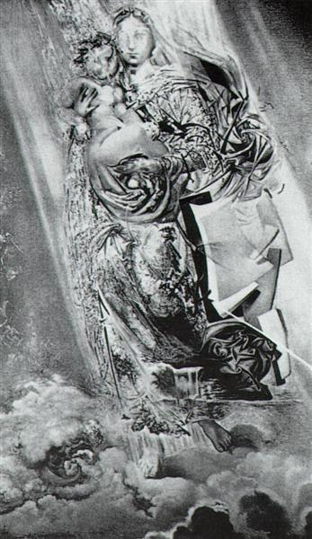 Cosmic Madonna - Dali Salvador