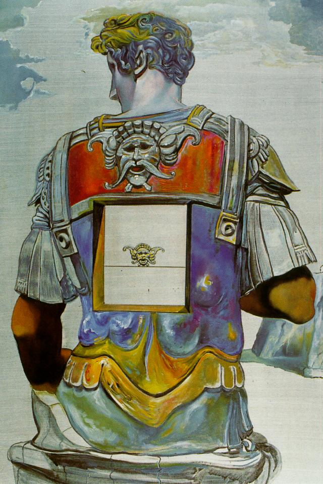 Giuliano di Medici' by Michelangelo, Seen from Behind, 1982