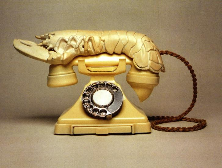 Lobster Telephone, 1938 - Salvador Dali - WikiArt.org