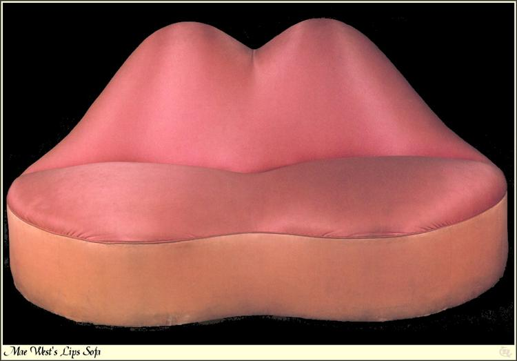 Mae West Lips Sofa